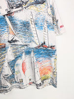 All Over Print Sailing Tee (L)