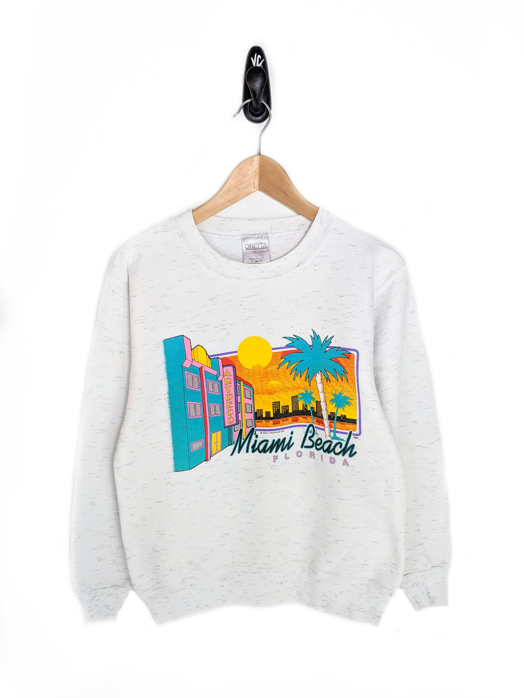90's Miami Beach Sweatshirt (S)