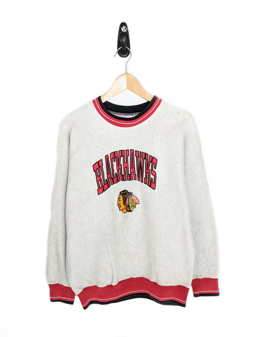 Blackhawks Ringer Sweatshirt (L)