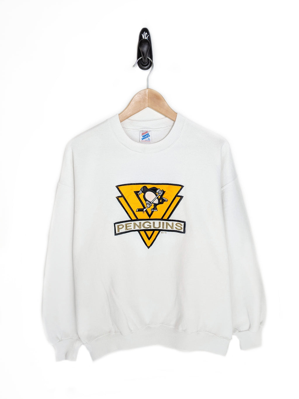 90's Penguins Sweatshirt (XL)