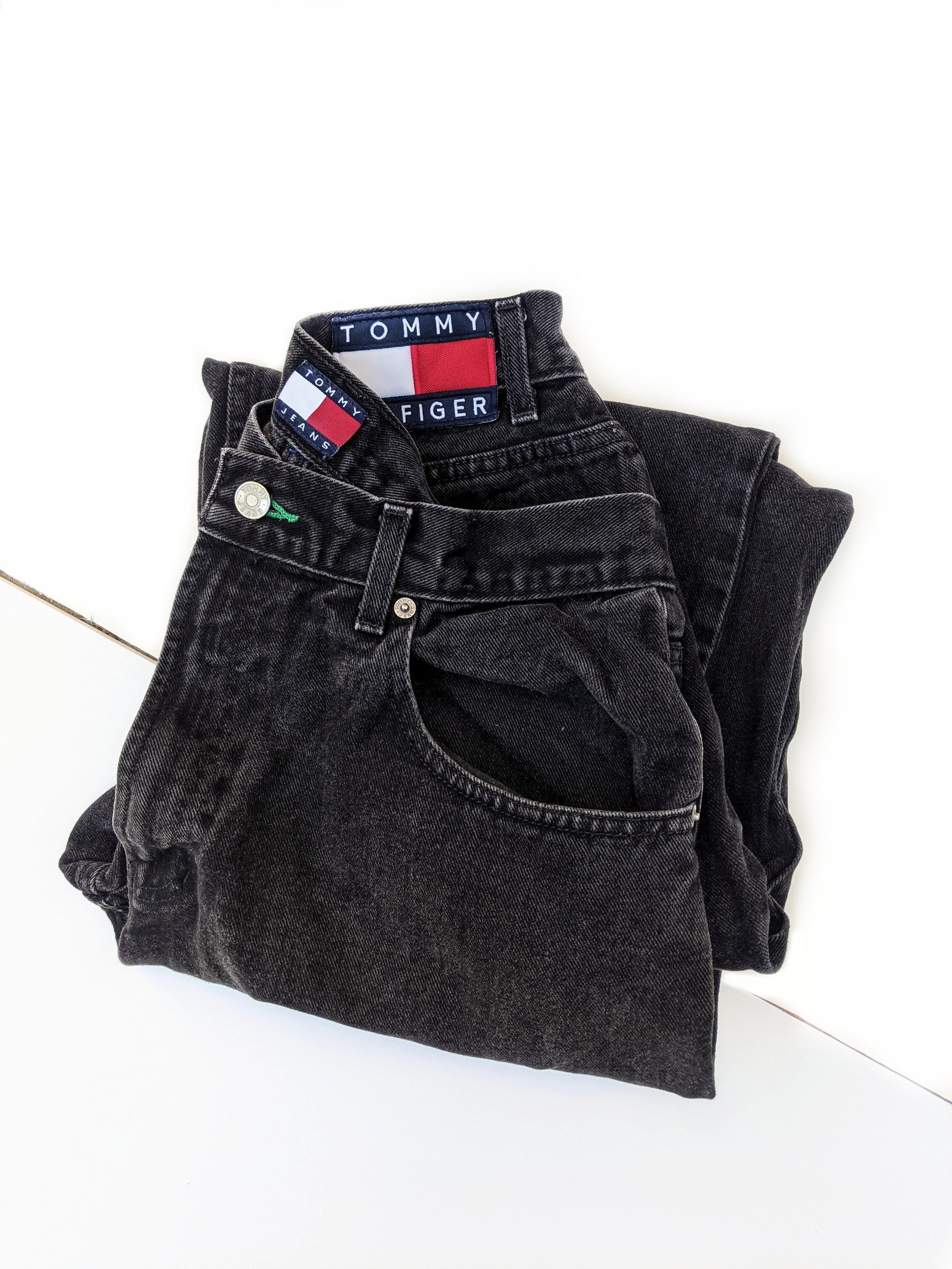 90's Tommy Patch Jeans (29-30)