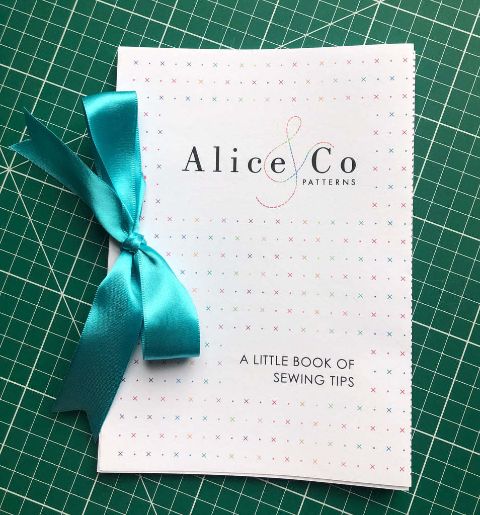 A LITTLE BOOK OF SEWING TIPS IS HERE!