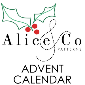 ALICE & CO ADVENT: FREE PATTERNS AND MORE!