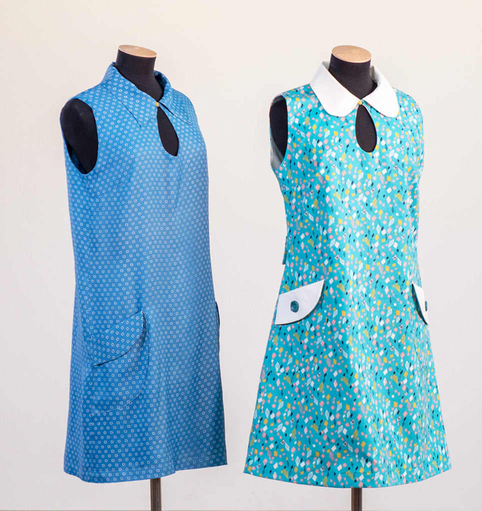 FREE PATTERN: MARY QUANT-STYLE MINIDRESS FOR THE V&A LAUNCHES TODAY!