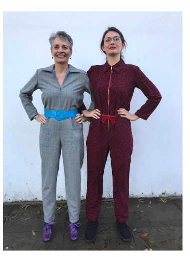 NEW WORKSHOP: Sew your Intrepid Boiler Suit with us at Ray Stitch