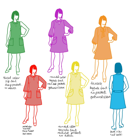 Mary Quant Pattern Designs