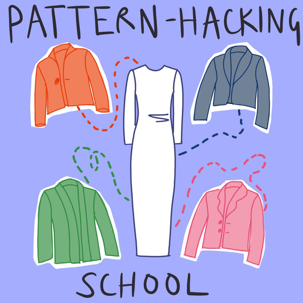 PATTERN HACKING SCHOOL: SHAWL COLLAR CARDIGAN/JACKET Sun 21st Feb 6-8.30pm UK TIME
