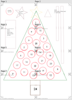 Alice & Co Advent: Christmas Tree Advent Calendar