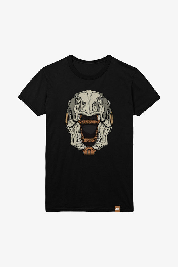 Destiny Skull of Dire Ahamkara Helmet Black T-Shirt
