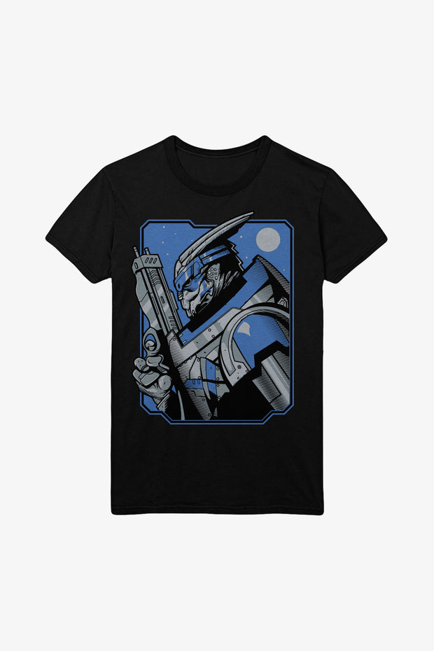 Mass Effect Garrus Vakarian T-Shirt Men