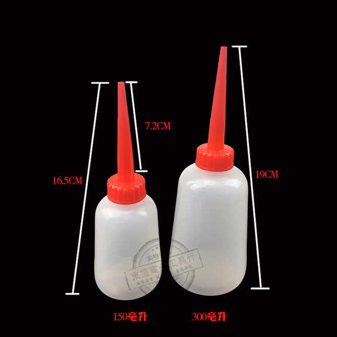 Dispensing bottle Oil bottle Container Bottle with Funnel