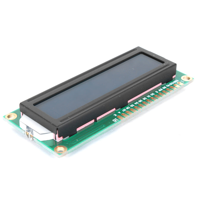 16 * 2 Character LCD Display Module with Blue Backlight