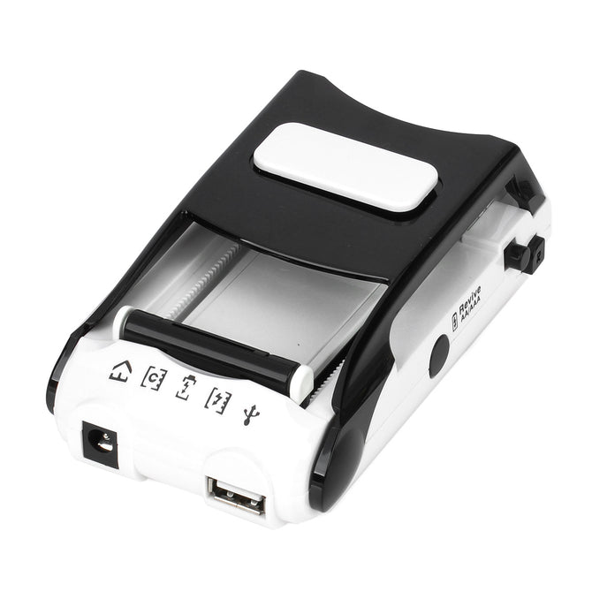 I WAP Multi-Function AC / Car Powered Lithium Battery / AA / AAA Battery Charger - White + Black