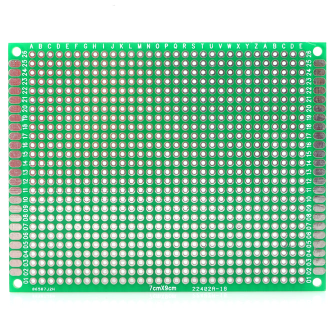 Double-Sided Glass Fiber Board Protoboard - for Arduino (Works with Official Arduino Boards)