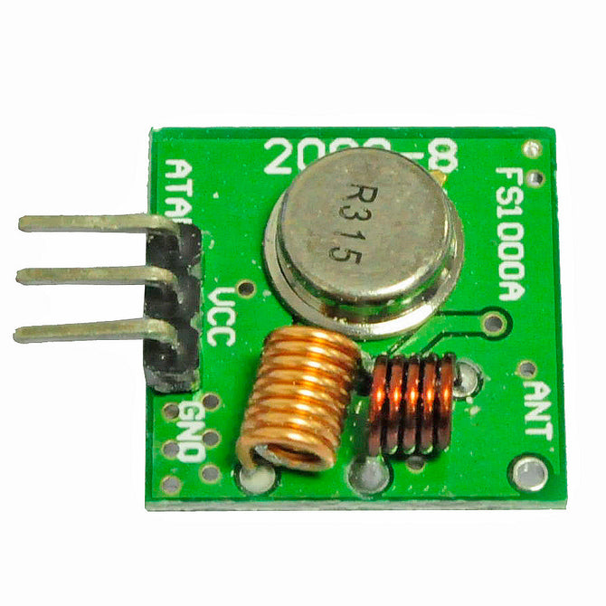 MX-FU1 315MHz Wireless Transmitter Module Superregeneration for Arduino