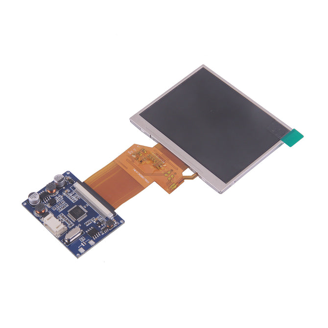 "2-CH Video Input 3.5"" TFT LCD Display Monitor Module w/ Cable"