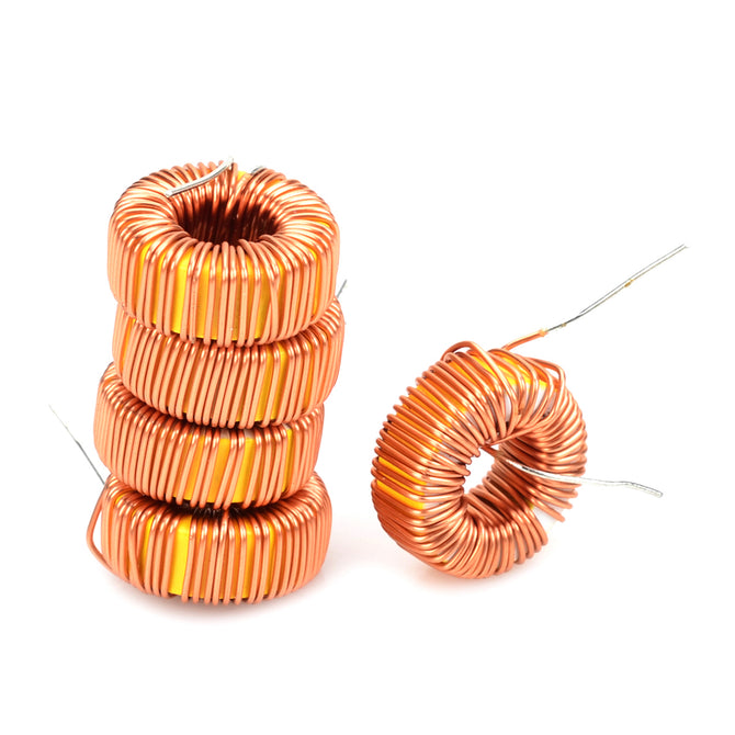 YS-075 Electrical Wired Magnetic Inductive Ring - Orange (5 PCS)