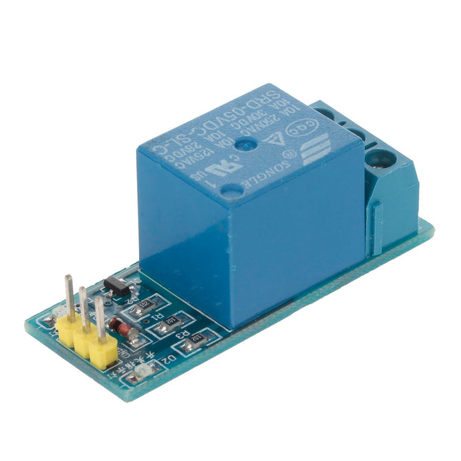 10A AC 250V / DC 30V Relay Shield Module for Arduino DIY Project - Light Blue