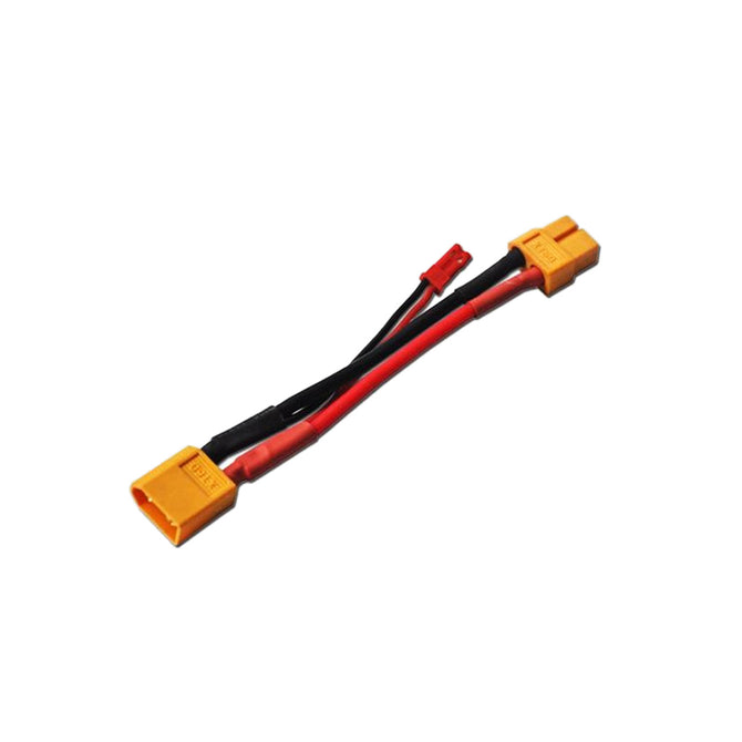 37-8 XT60 Male to XT60 Female + JST Male Converter Wire - Yellow + Black + Red