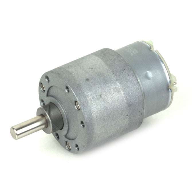 ZnDiy-BRY 37mm 12V DC 60RPM High Torque Gear Box Electric Motor - Silver