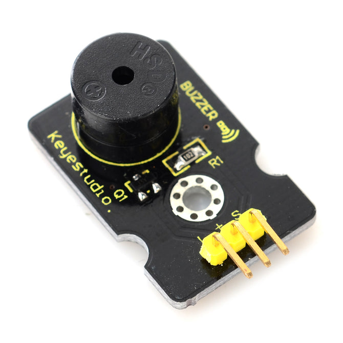 Keyestudio Digital Buzzer Module - Black + Yellow