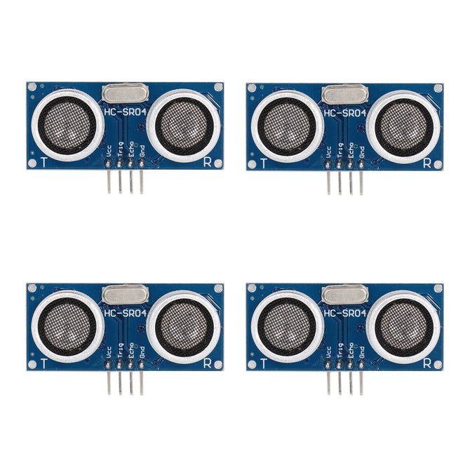 HC-SR04 Ultrasonic Sensor Distance Measuring Modules - Blue (4 PCS)