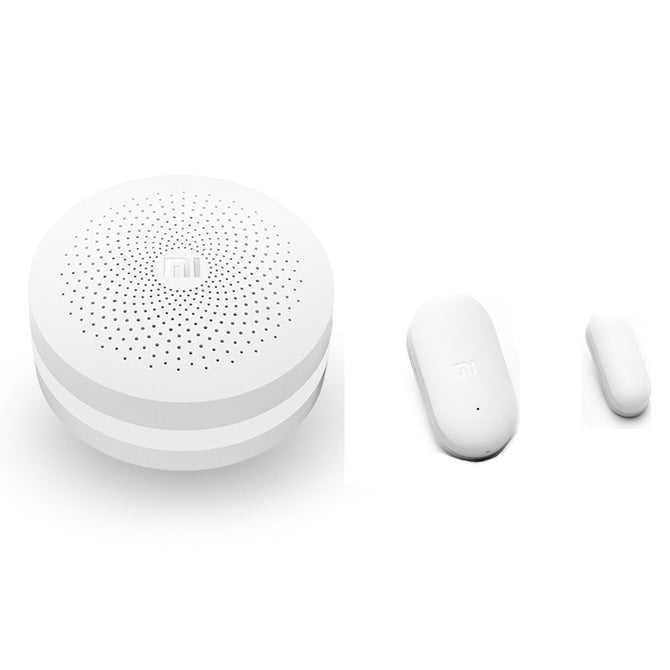 Original Xiaomi Smart Security Gateway + Door / Window Sensor - White