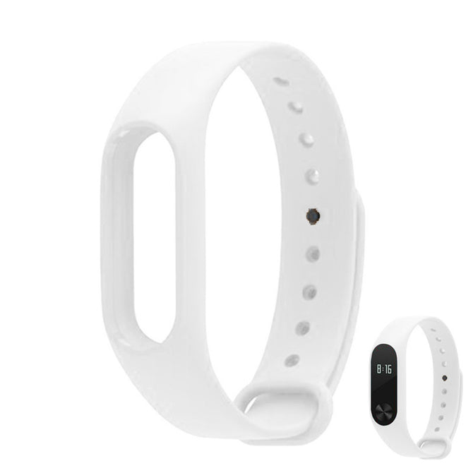 Replacement TPU Wrist Band for Xiaomi MI Band 2 - White