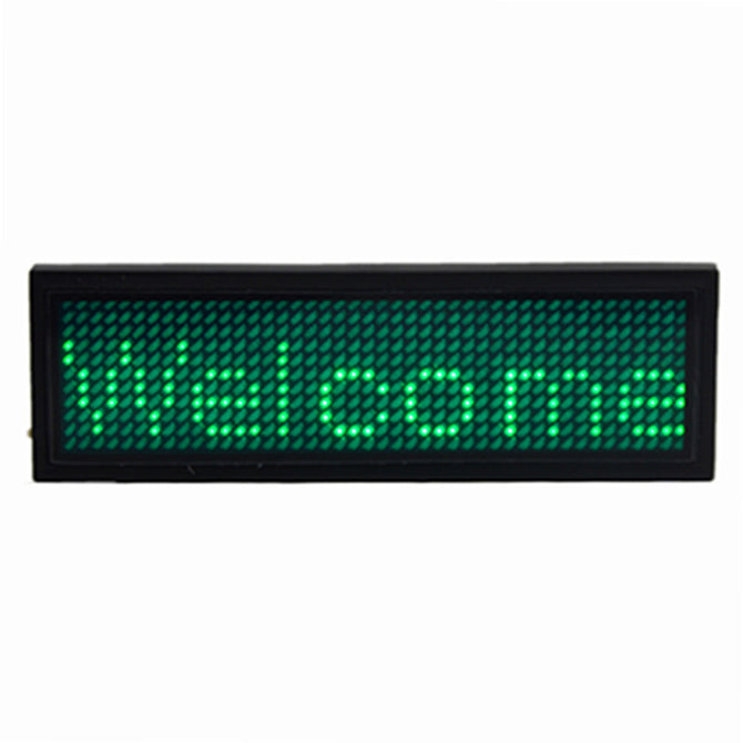 Professional LED Plate - Green + Black