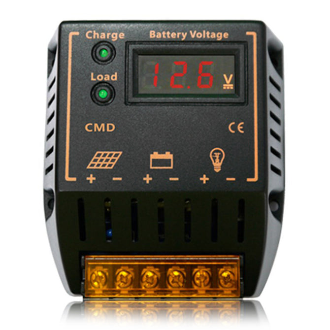 UEIUA CMD-2410 PWM Solar Charge Controller 12V / 24V for Solar System