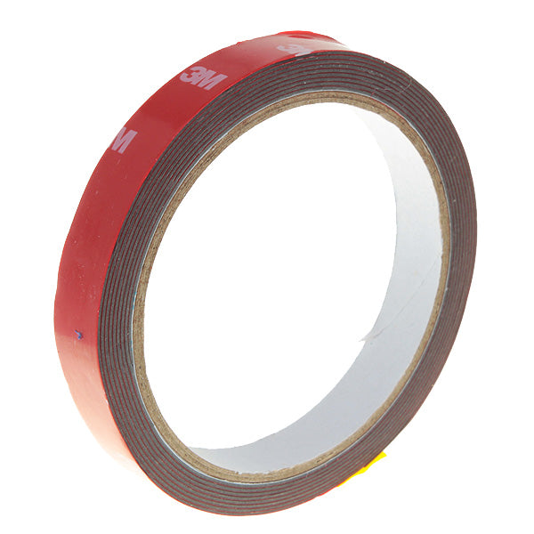 3M Double Sided Adhesive Tape for Auto - Red (15mm)