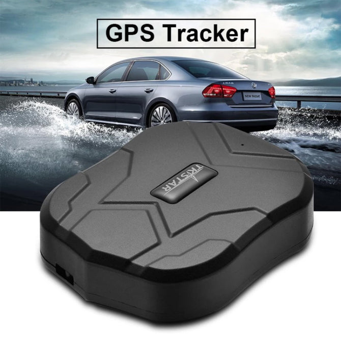 TK905 Waterproof Vehicle Car GPS Tracker Locator - Black (No Box)
