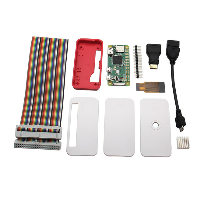 Geekworm Raspberry Pi Zero W 7-in-1 Ultimate Starter Kit (Raspberry Pi Zero W Included)