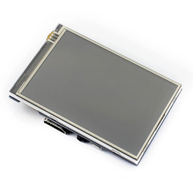 Waveshare 480x320 3.5 Inches IPS Resistive Touch Screen LCD with HDMI Interface, Designed for Raspberry Pi