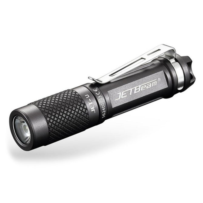 Jetbeam JET - U AAA Cree XP - G2 135LM 3-Mode LED Flashlight - Titanium Grey