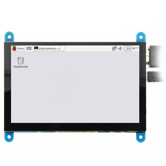 Geekworm 5 Inches 800x480 HDMI Touch Capacitive LCD Screen with OSD Menu for Raspberry Pi / PC / Xbox360 / PS4 / Nintendo