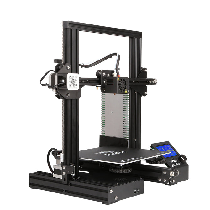 CREALITY 3D Ender-3 Large Print Size 220*220*250mm Prusa 3D Printer DIY Kit Heated Bed Resume Power Off Function