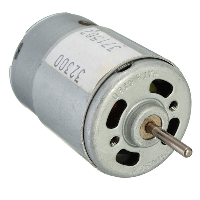ZHAOYAO 20W DC 3~12V Large Torque Super Model High Speed Motor - White