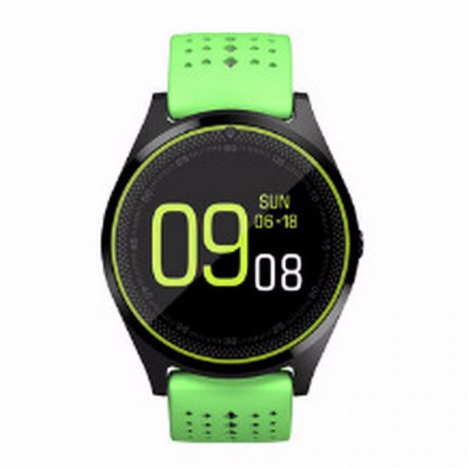 V9 Smart Watch With Camera Bluetooth Smartwatch SIM Card Wristwatch For Android Phone Wearable Devices Black