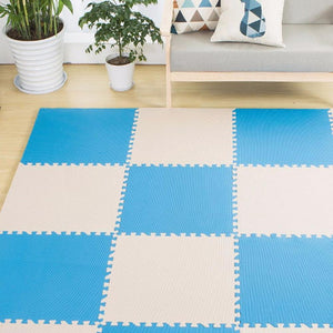 Foam Play Mats Plain Color Soft Developing Crawling Eva Foam Floor Play Puzzle Health For Baby See below for size descriptions/Pink