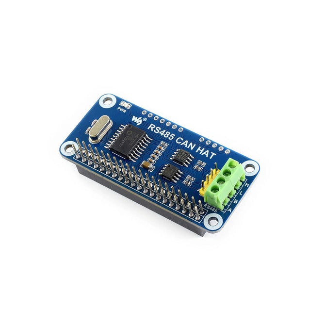 RS485 CAN HAT for Raspberry Pi, Allows Stable Long-distance Communication (No pi)