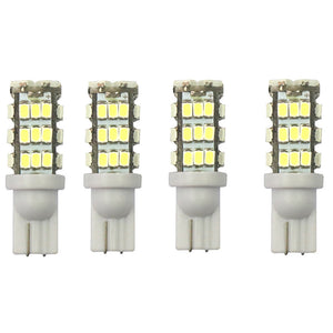 T10 12V 16W 6000K 400LM 42-LED 3528 SMD 4-Piece Car Turn Signal Light, License Plate Light - White Light
