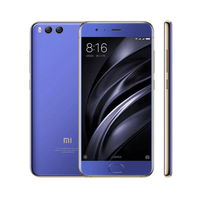 Xiaomi Mi 6 Android 7.1.1 Phone with 4GB RAM, 64GB ROM - Blue