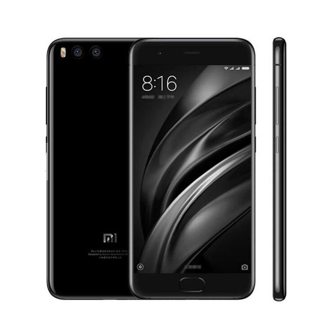 xiaomi Mi 6 Android 7.1.1 Phone with 6GB RAM, 128GB ROM - Black