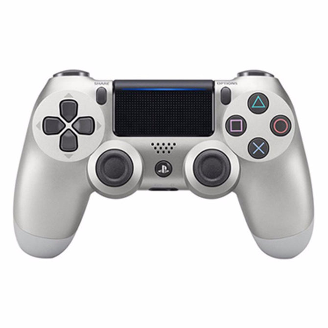 Wireless Bluetooth Game Controller For Sony PS4 PlayStation 4 Controller For Dual Shock Vibration Joystick Gamepad Silver