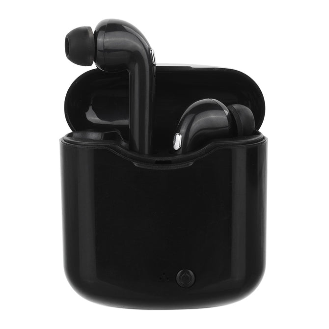 X7 Mini TWS Bluetooth Headphone Stereo Earphone, Wireless Earbuds with Charging Box - Black