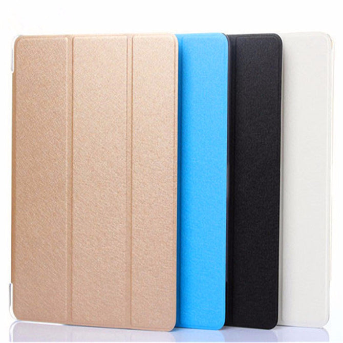 Protective Leather Case For 10.1 Inch Binai Mini101 Tablet PC, Tablet Folding Stand Case Cover Gold