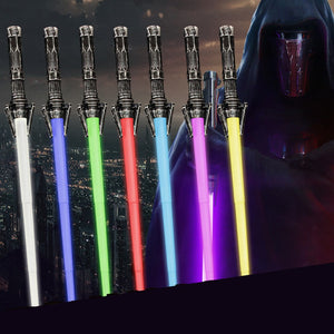 Retracting Toys Two-in-one 7 Colors Laser Sword DIY New Exotic Toys White
