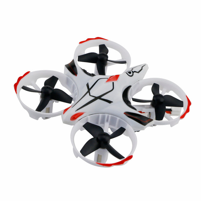 JJRC H56 TaiChi RC Drone with Interactive Altitude Hold Mode, Gesture Control - White