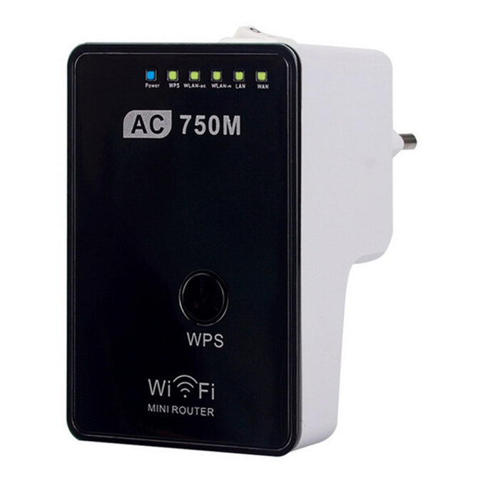 Wireless Router Support Wi-Fi IEEE 802.11 ac / b / g / n Router / AP / Repeater 750M Dual Frequency Convenient Switch